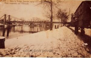 agde sous la neige 1914 - 2