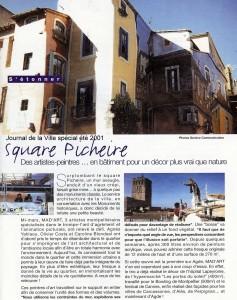 Journal de la Ville spécial été 2001